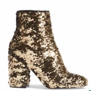 Steve Madden Georgia Sequin Ankle Boots